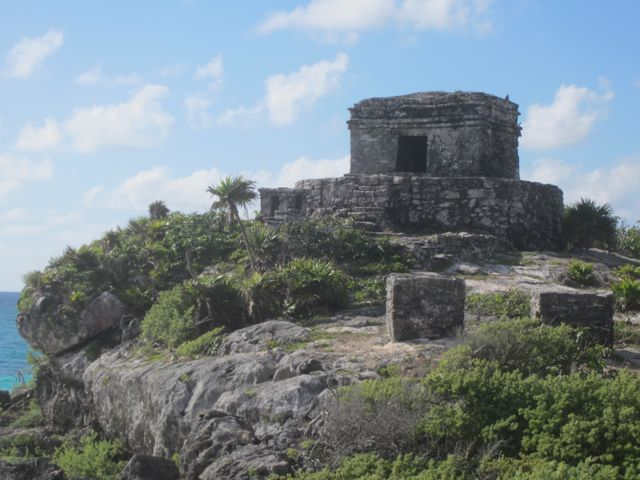 The ruins at Tulum