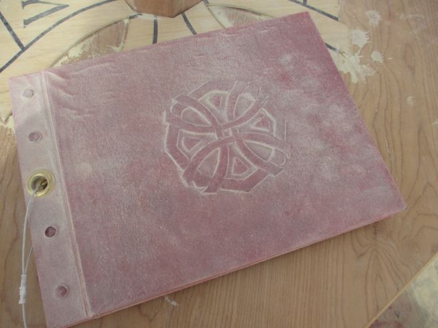 the Journal, made by Anna McKee